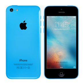 Apple iPhone 5C Smartphone 16GB 4 Zoll Retina-Touchscreen Blau – Bild 1