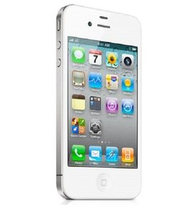 Apple iPhone 4S Smartphone (3,5 Zoll Touchscreen Display, 16GB) weiß