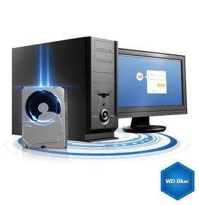 WD Blue 5TB 6Gb/s HDD internal (8,9cm 3,5Zoll, SATA) WD50EZRZ – Bild 4
