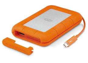"LaCie Rugged Thunderbolt  (LAC9000488) 2.5"" USB3.0 1TB Festplatte Grey – Bild 2"