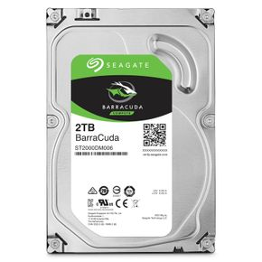 "Seagate Barracuda 2TB 3,5"" SATA-600 64MB ST2000DM006 7200RPM"