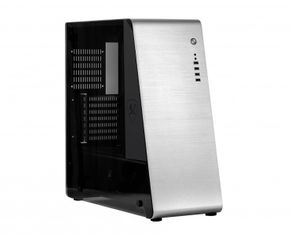 X2 Empire Silver Full Size Tower ATX Gamer Case, silber, innen schwarz – Bild 1
