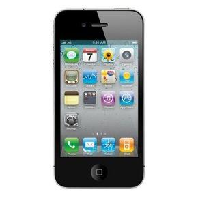 Apple iPhone 4 Smartphone (8,9 cm (3,5 Zoll) Touchscreen Display, 5 Megapixel Kamera, 8GB, UMTS) schwarz – Bild 1