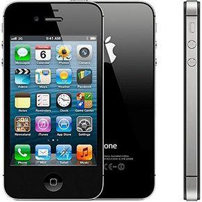 Apple iPhone 4 Smartphone (8,9 cm (3,5 Zoll) Touchscreen Display, 5 Megapixel Kamera, 8GB, UMTS) schwarz – Bild 2