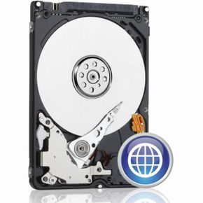 WD Blue 500 GB interne mobile Festplatte (9,5 mm Höhe 5400rpm SATA 6Gb/s 8MB Cache 6,4 cm 2,5 Zoll) RoHS compliant intern