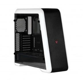 X2 Empire Full size Tower weiß, ATX Gamer Case, gaming Gehäuse,innen schwarz