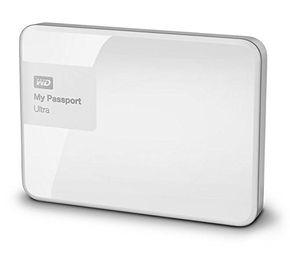 "WD MyPassport Ultra 3TB 2,5"" USB3 externe Festplatte Weiß – Bild 1"