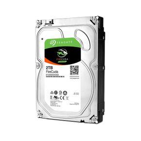 Seagate FireCuda 2TB ST2000DX002 interne Hybrid Festplatte, SSHD 3,5 Zoll, 64MB Cache, SATA3