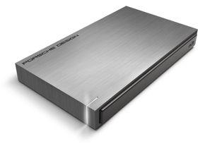 "LaCie Mobile Drive (LAC302000) 2.5""  - 1TB Festplatte - Dark Grey – Bild 1"
