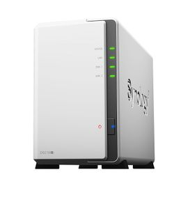 SYNOLOGY DiskStation DS218j 6TB Bundle NAS-Server 2-Bay und 2x 3TB HDDs – Bild 1
