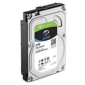 Seagate SkyHawk interne Festplatte, 1 - 10TB HDD, 3,5 Zoll, 64MB/256MB Cache, SATA 6Gb/s - recertified  – Bild 3