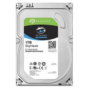 Seagate SkyHawk 1TB, ST1000VX005, interne Festplatte, 8,9 cm (3,5 Zoll), 64 MB Cache, SATA 6Gb/s – Bild 1