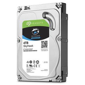 Seagate SkyHawk 4TB, ST4000VX007, interne Festplatte, 8,9 cm (3,5 Zoll), 64 MB Cache, SATA 6Gb/s – Bild 1