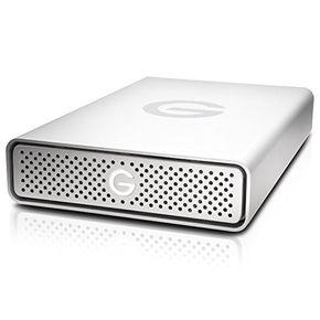 G-Tech by Hitachi G-Drive 3TB 0G04455 3,5 Zoll USB 3.0 externe Festplatte silber