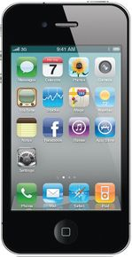 Apple iPhone 4 Smartphone (8,9 cm / 3,5 Zoll Touchscreen Display, 5 Megapixel Kamera, UMTS) – Bild 1