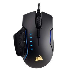 Corsair GLAIVE RGB Gaming Maus USB 16000 DPI Optisch CH-9302111 Aluminium