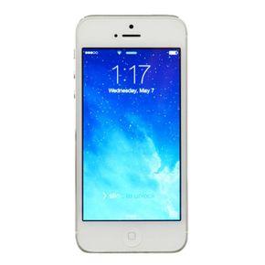Apple iPhone 5 Smartphone 16GB 4 Zoll Retina-Touchscreen Weiß – Bild 1