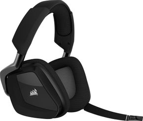 Corsair Gaming CA-9011152 VOID PRO Wireless Premium Gaming Headset RGB Dolby 7.1 Carbon – Bild 1