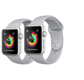 Apple Watch Series 3 38mm / 42mm Aluminium Smartwatch / Uhr / Fitnesstracker – Bild 1