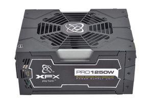 XFX Black Edition Full Modular Pro Serie Netzteil 1250 Watt 80 Plus Gold ATX – Bild 3