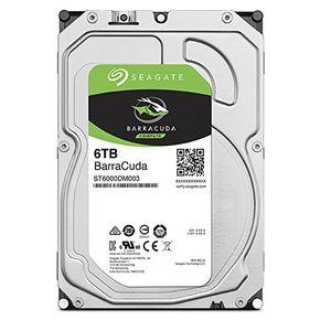 "Seagate Barracuda 6TB ST6000DM003 Interne Festplatte 3,5"" 64MB HDD SATA3 7200RPM – Bild 1"
