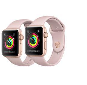 Apple Watch Series 3 38mm / 42mm Aluminium Smartwatch / Uhr / Fitnesstracker – Bild 2