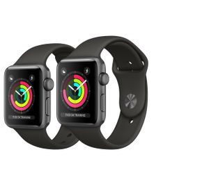 Apple Watch Series 3 38mm / 42mm Aluminium Smartwatch / Uhr / Fitnesstracker – Bild 3