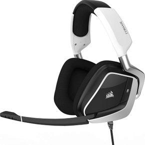 Corsair VOID PRO USB RGB Gaming Headset Kopfhörer PC 7.1 Surround Sound weiß – Bild 1