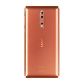 Nokia 8 13,4 cm (5,3 Zoll) Smartphone (64 GB ROM, 4 GB RAM, 13 MP Kamera, Single SIM, spritzgeschützt (IP54), Android Nougat) – Bild 10
