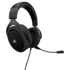 Corsair HS50 Gaming Headset Stereo Kopfhörer für PC PS4 Xbox One Switch schwarz – Bild 4