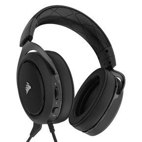Corsair HS50 Gaming Headset Stereo Kopfhörer für PC PS4 Xbox One Switch schwarz – Bild 2