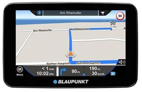 "Blaupunkt TravelPilot 54 EU LMU Navigationssystem 5"" Display"