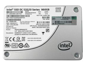 "HP 867213-004 Intel DC S3520 Series 960GB 2,5"" 7mm SATA 3 MLC SSD SSDSC2BB960G7P – Bild 2"