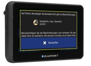 "Blaupunkt TravelPilot 55 ACTIVE Truck / Camping EU Navigationssystem  5"" Display – Bild 2"