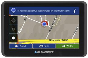 "Blaupunkt TravelPilot 65 ACTIVE EU LMU Navigationssystem 6,2"" Display"
