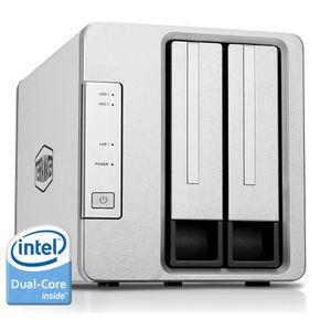 TerraMaster F2-220 NAS 2-Bay Cloud Speicher Server Intel Dual-Core 2,4GHz Netzwerkspeicher RAID