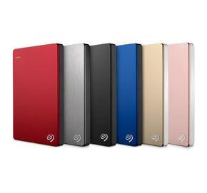 Seagate Backup Plus Slim Portable, externe tragbares Festplattengehäuse, USB 3.0 – Bild 1