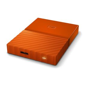 "WD My Passport 2TB 2,5"" USB 3.0 (WDBYFT0020BOR) externe Festplatte Orange – Bild 2"