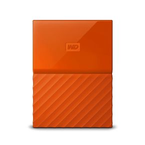 "WD My Passport 2TB 2,5"" USB 3.0 (WDBYFT0020BOR) externe Festplatte Orange – Bild 1"