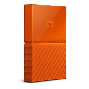 "WD My Passport 2TB 2,5"" USB 3.0 (WDBYFT0020BOR) externe Festplatte Orange – Bild 3"