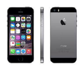 "Apple iPhone 5S Smartphone 64GB 4"" Retina-Touchscreen, 8 MP Kamera) Spacegrau – Bild 1"
