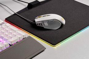 Corsair CH-9309111 M65 ELITE RGB FPS Gaming Maus 18000 DPI Optisch USB weiß – Bild 6