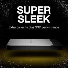 Seagate Fast externe SSD 250/500/1000 GB für PC und Mac 2,5 Zoll bis zu 540MB/s – Bild 2