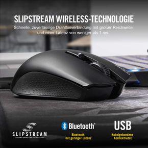 Corsair HARPOON RGB Wireless Gaming Maus 10000 DPI Optisch CH-9301011 schwarz – Bild 5