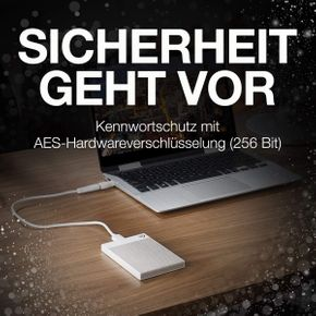 "Seagate Backup Plus Ultra Touch tragbare externe Festplatte 2,5"" USB3 HDD PC Mac – Bild 6"