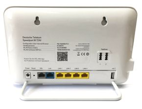Telekom Speedport W 724V 1300 Mbps 4-Port 1000 Mbps WLAN Router DECT (40267955) – Bild 2