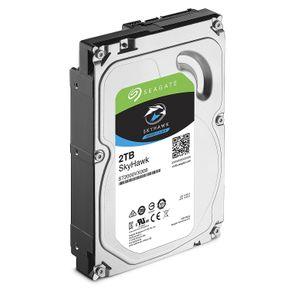 Seagate SkyHawk interne Festplatte, 1 - 10TB HDD, 3,5 Zoll, 64MB/256MB Cache, SATA 6Gb/s - recertified  – Bild 2