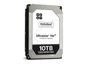 "Hitachi HGST UltraStar He10 10TB HUH721010ALE600/0F27452 Festplatte 3,5"" SATA 6Gb/s 256MB 7200RPM"