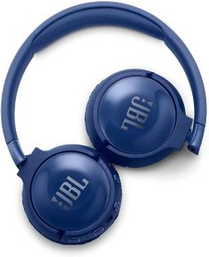 JBL Tune600BTNC - Kabellose Noise-Cancelling On-Ear Bluetooth Kopfhörer blau – Bild 2