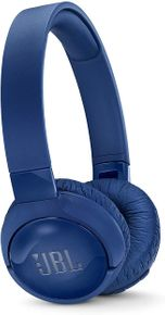 JBL Tune600BTNC - Kabellose Noise-Cancelling On-Ear Bluetooth Kopfhörer blau – Bild 1